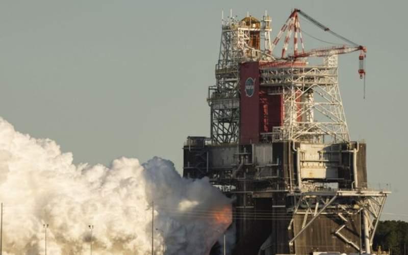آزمایش موشک ناسا زودتر از موعد پایان یافت