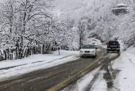 پیشبینی بارش برف و باران در تهران
