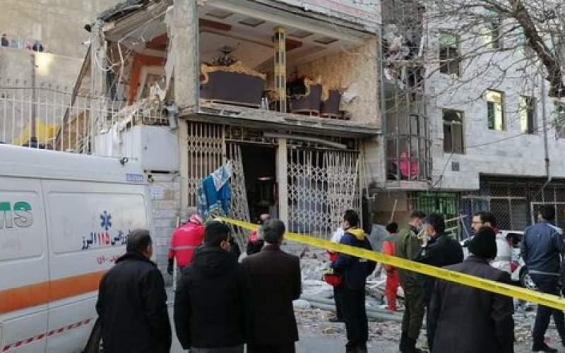 انفجار در کرج ۱ کشته و ۴ مصدوم بر جا گذاشت