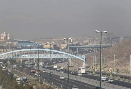 رفع آلودگی هوای تهران به لطف باد!