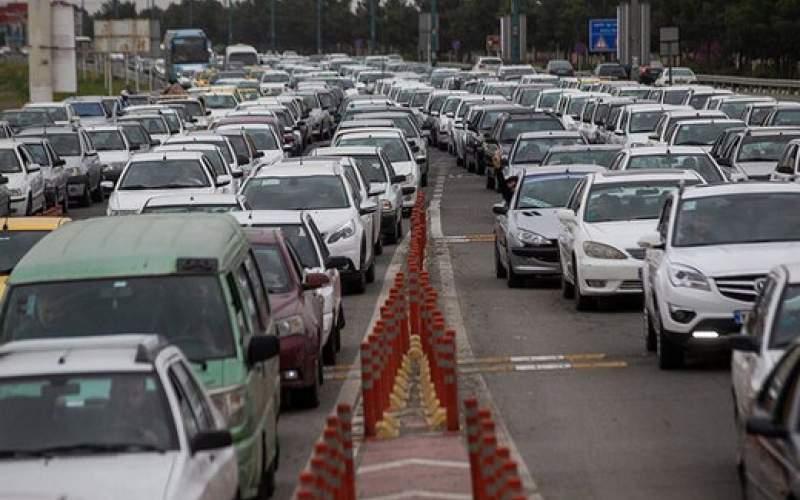 ترافیک در کدام معابر تهران سنگین است؟