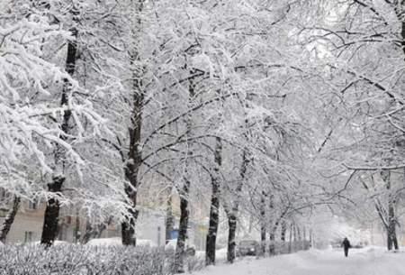 آسمان فردا شب تهران برفی و بارانی است