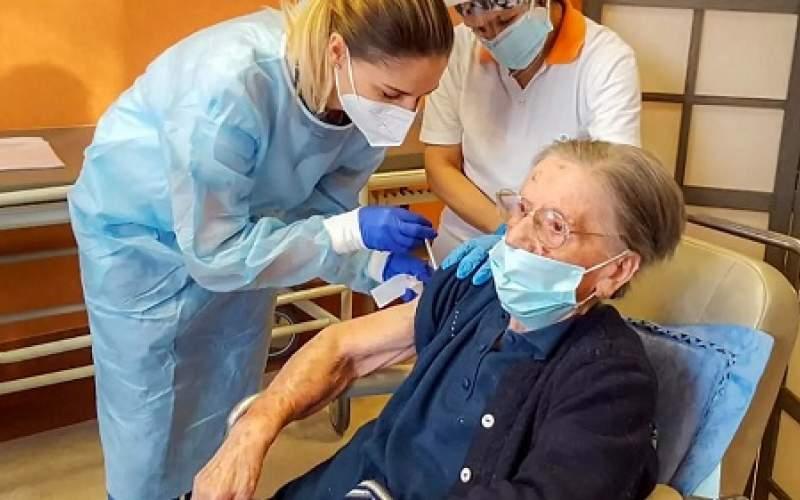 پیرترین فردی که واکسن کرونا زد، چند ساله است