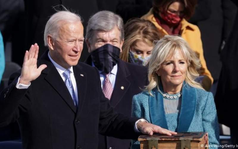 جو بایدن با ادای سوگند رئيسجمهور آمریکا شد