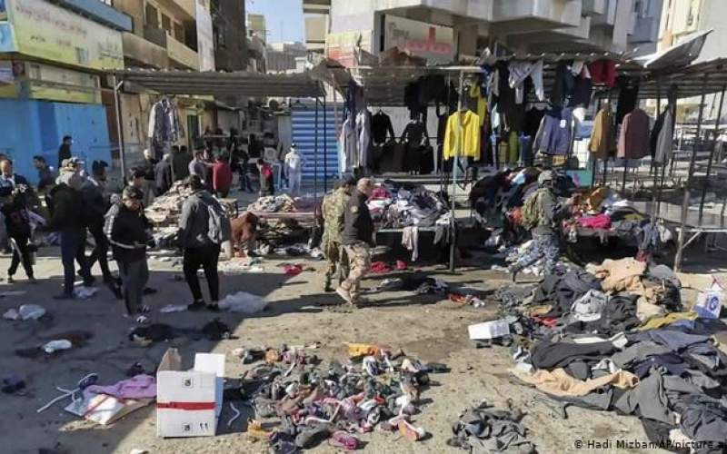 داعش مسئول انفجارهای انتحاری بغداد