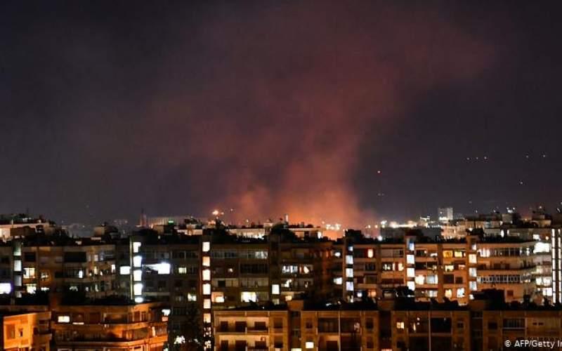 اولین حمله اسرائیل به سوریه در زمان بایدن