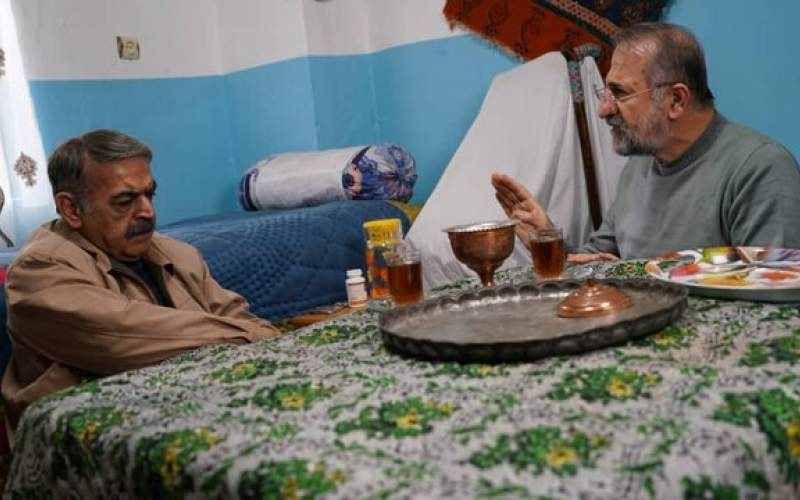 مهران رجبی با مرجانه گلچین و لولایی همبازی شد