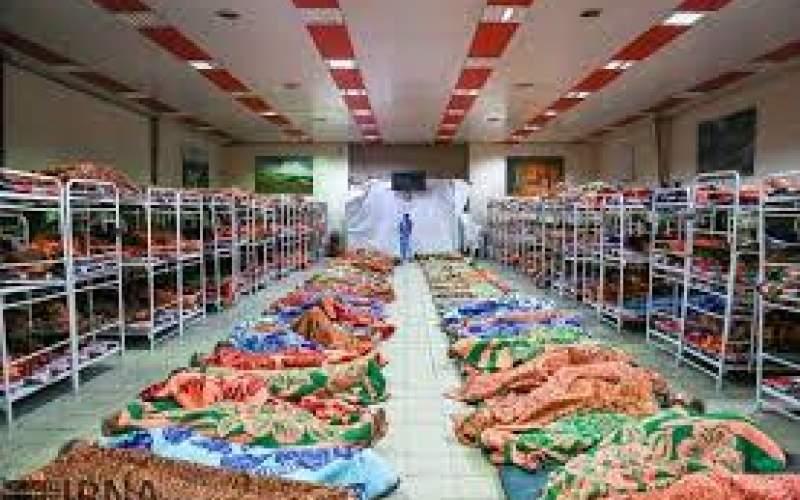 پرشدن تخت گرمخانهها در شبهای سرد تهران