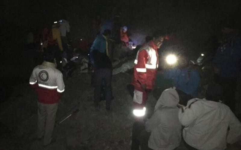 نجات ۳۱ کوهنورد گرفتار در ارتفاعات رودان