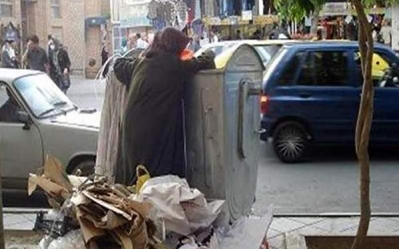 دختر زبالهگرد:سر من باید در سطل آشغال باشد؟!