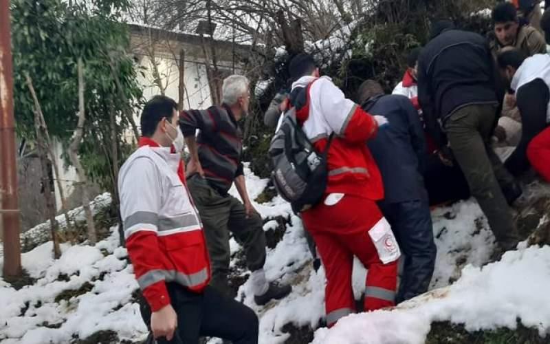 سقوط یک جوان گیلانی از ارتفاعات ۳۰ متری