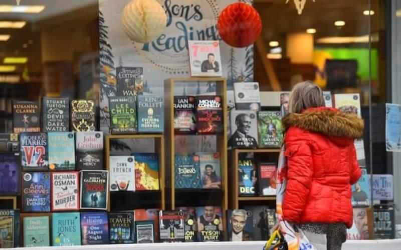 رکوردشکنی فروش کتاب در بریتانیا