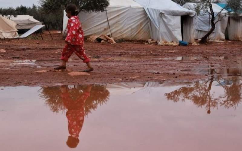 سیل ۲۰ هزار آواره سوری را تهدید میكند