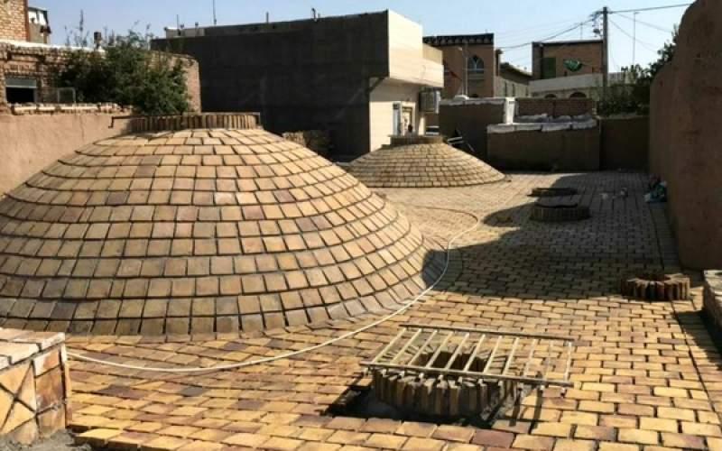 مرمت حمام تاریخی لطفعلیخان درخراسان رضوی