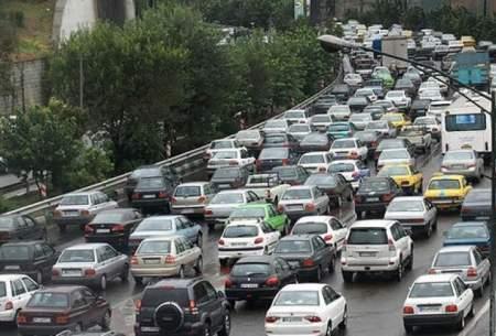 ترافیک سنگین در۶ معبر بزرگراهی درپایتخت
