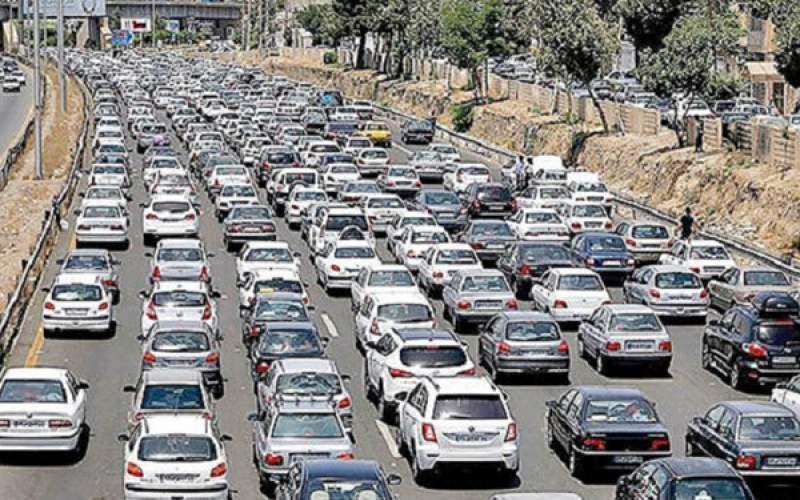 حجم ترافیک در معابر پایتخت زیاد است