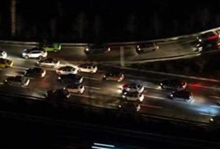 جریمه۲۰۰ هزارتومانی ۶۰ هزار خودرو در یک شب