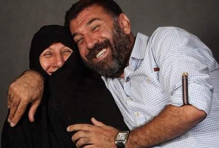 علی انصاریان: کاش قبل از مادرم بمیرم