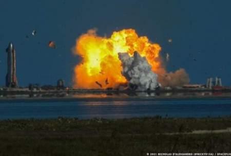 "موشک ""استارشیپ"" دوباره منفجر شد"