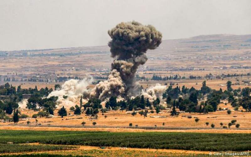 حمله جنگندههای اسرائیل به جنوب سوریه