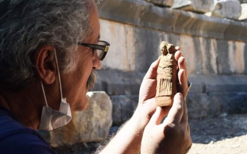 کشفمجموعهایازمجسمههای تاریخی در ترکیه