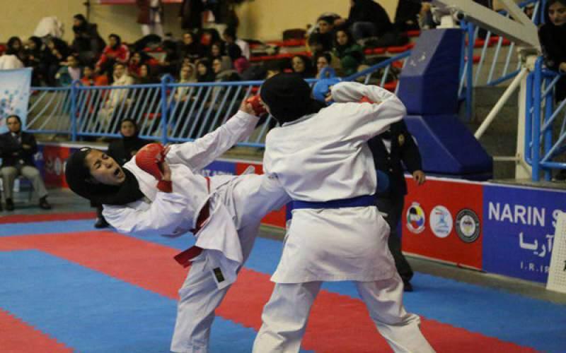 رقابت ۱۸ تیم در لیگهای کاراته بانوان