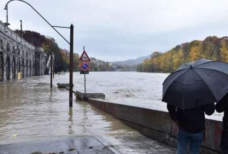 طغیان رودخانه شهرسنت فرانسه رازیر آب برد