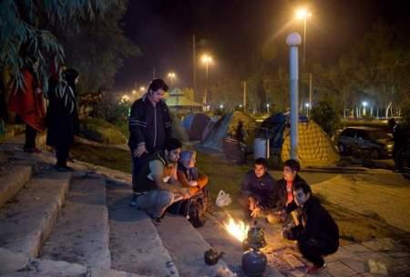 زلزله مردم قصرشیرین را به خیابان ها کشاند