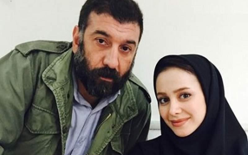 علی انصاریان و الناز حبیبی /عکس