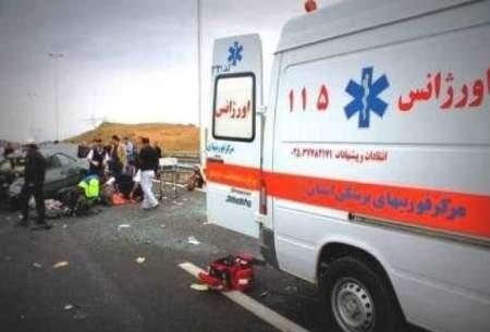 ثبت ۵۲۰ حادثه در کشور طی هفته گذشته