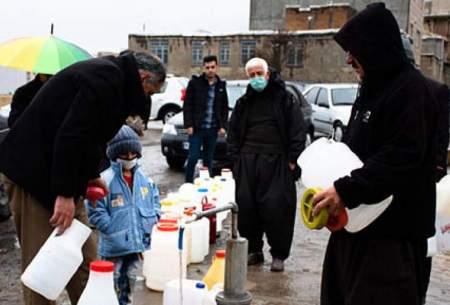 صفکشی برای تهیه آب شرب درسنندج/تصاویر
