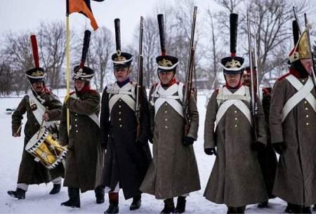 تشییع  بقایای سربازان جنگهای ناپلئون