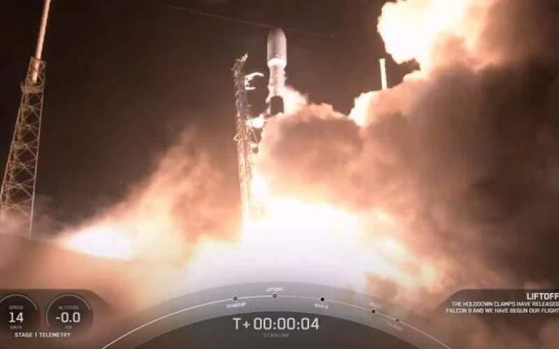 پرتاب نوزدهمین ماهوارهی استارلینک به فضا