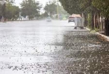 فعالیت سامانه بارشی در این استانها