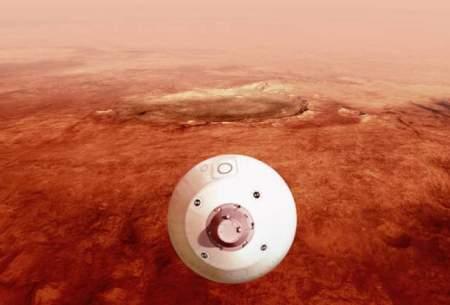 """۷ دقیقه وحشت تا فرود """"استقامت"""" بر مریخ"""