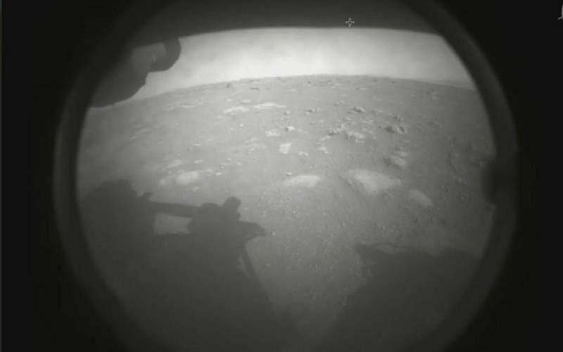 نخستین عکس «استقامت» از سطح مریخ
