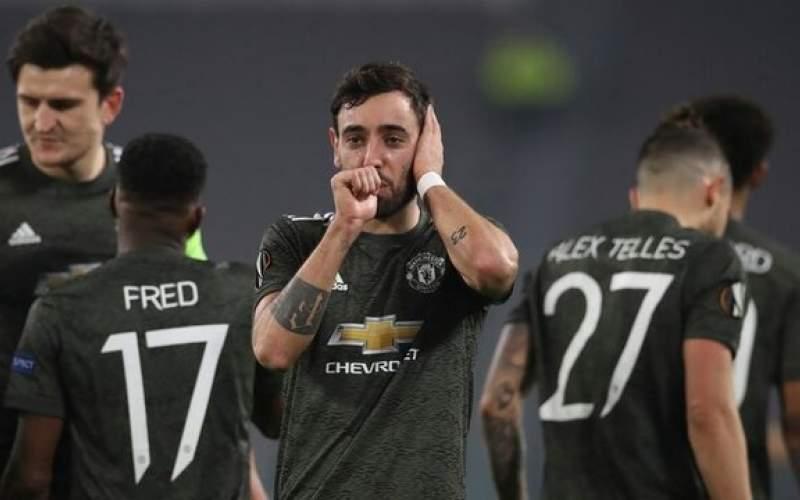 رکوردشکنی یونایتد در  لیگ اروپا