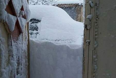 روستاهایلرستان درزیر برف پنهان شدند/عکس