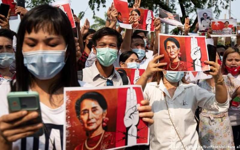 جنگ سایبری بین هکرها و کودتاچیان در میانمار