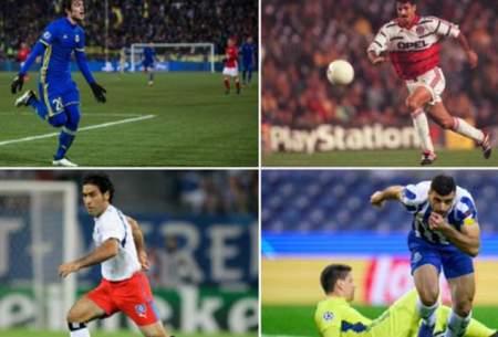 اسامی گلزنان ایران در لیگ قهرمانان اروپا/عکس