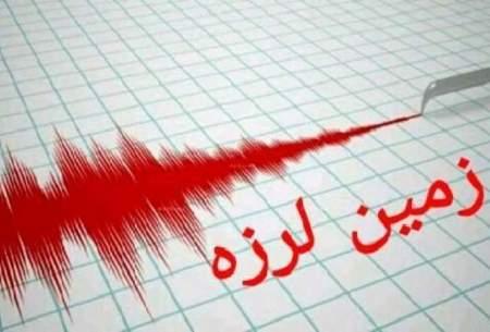 ثبت زلزله ۵.۶ سی سخت و ۴.۱ در بندر خمیر