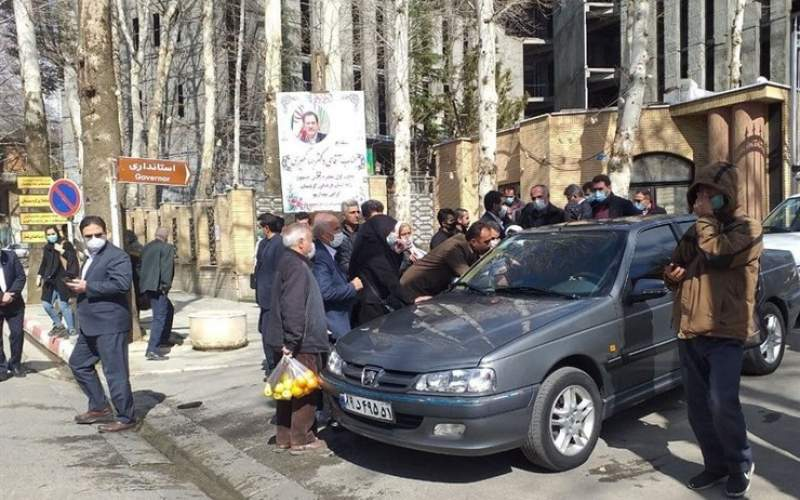 اعتراض به جهانگیری در کردستان /تصاویر