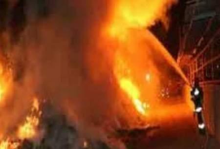 انفجار مواد محترقه درخیابان شوش حادثه آفرید