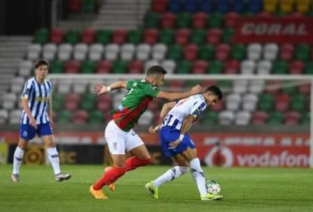 پیروزی لحظه آخری پورتو در لیگ پرتغال