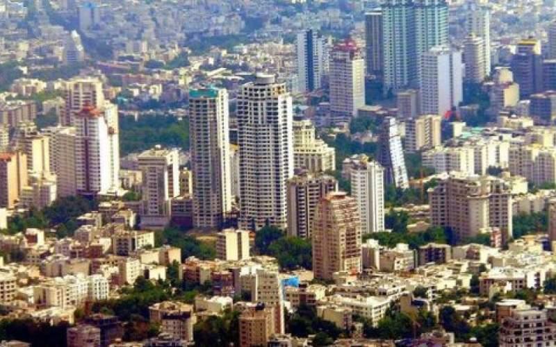 هزینه خرید املاک ۵۰ تا ۸۰ متر در تهران/جدول