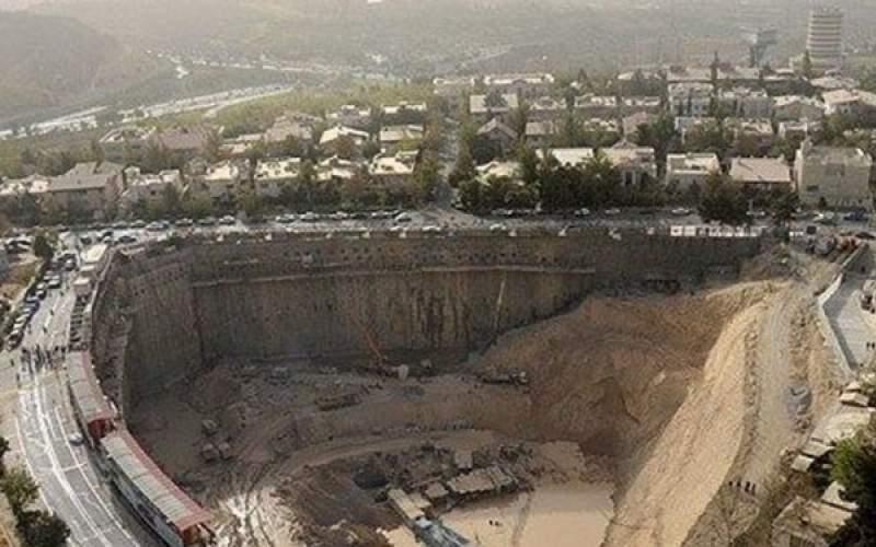 هشدار در مورد گود پرخطر برج میلاد