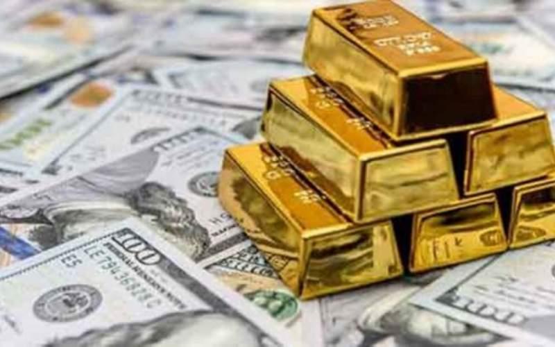 اونس طلا به پایین مرز ۱۸۰۰ دلار برگشت