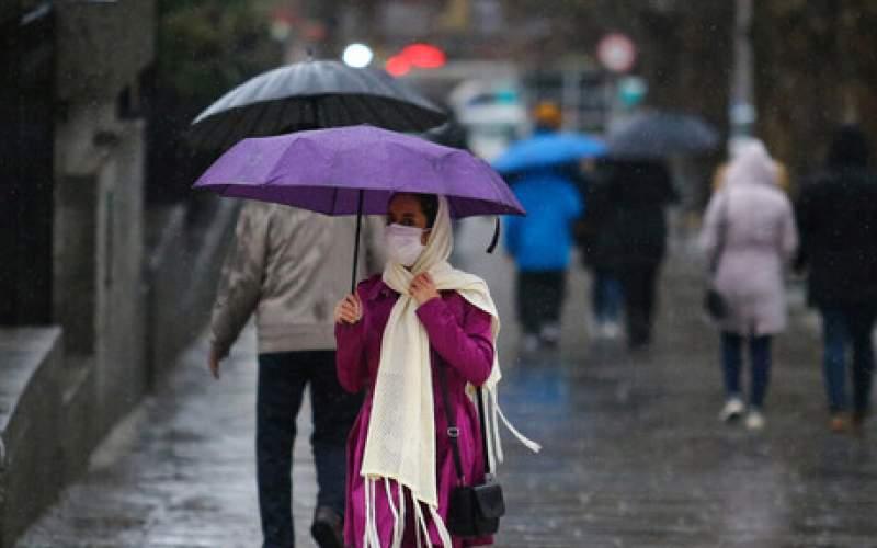 تداوم بارشها در کشور؛بارش شدید در۶ استان
