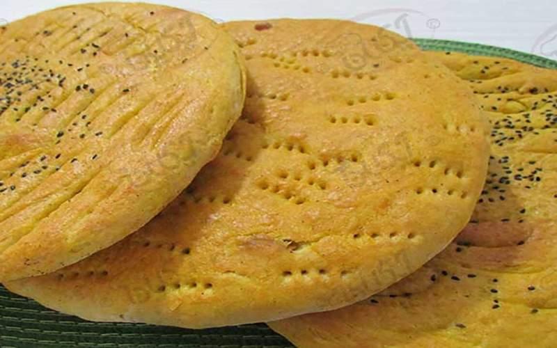 نان محلی میراث جاودان زنان خراسان شمالی