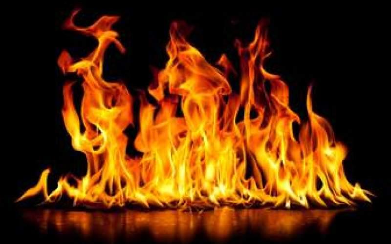 تلاش مادر فداکار برای نجات فرزندانش از آتش